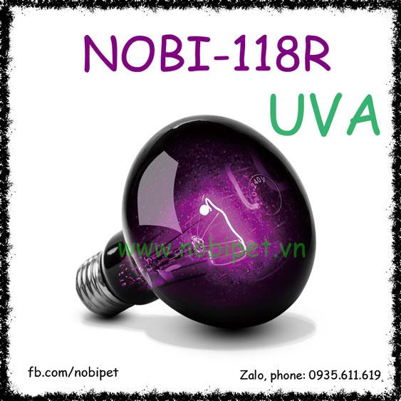 Bóng Đèn Sưởi Ban Đêm Hồng Ngoại RS Tia UVA Cho Bò Sát Nobi-118R