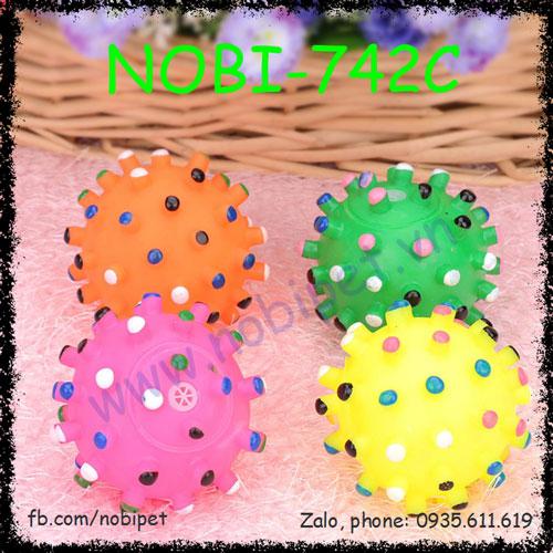 Bóng Nhựa Puppy Có Gai Đồ Chơi Cho Chó Con Gặm Nobi-742C