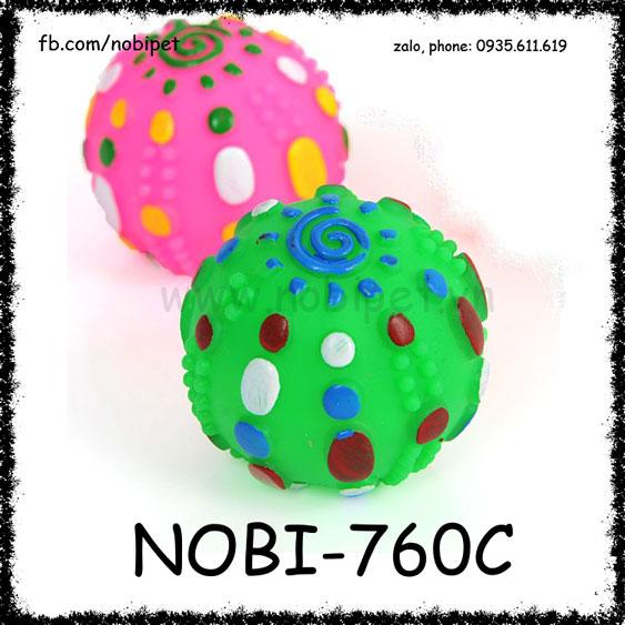 Bóng Nhựa Sunny Đồ Chơi Cho Chó Sắc Màu Nobi-760C