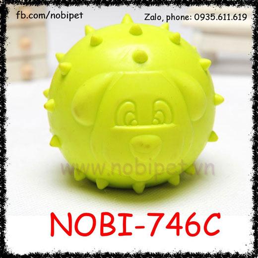 Bóng Su Pig Đồ Chơi Cho Chó Gặm Ngứa Răng Nobi-746C