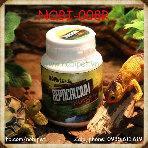 Bột Canxi Nomo Có Vitamin D3 Cho Chameleon Và Rùa Cạn Nobi-008R