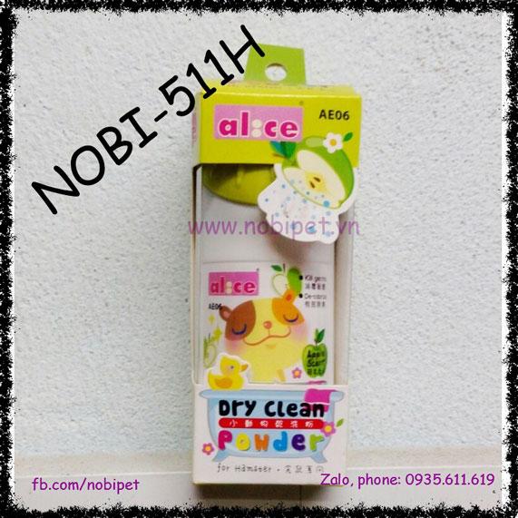 Bột Tắm Khô Jolly Cao Cấp Hương Táo Cho Thỏ Kiểng Nobi-511H