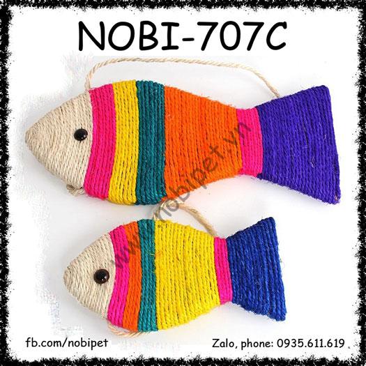 Cá Cào Móng Fishtoy Cho Mèo Sắc Màu Nobi-707C