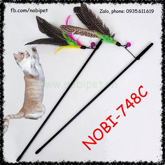 Cần Câu Angry Birds Đồ Chơi Vờn Mèo Vui Nhộn Nobi-748C