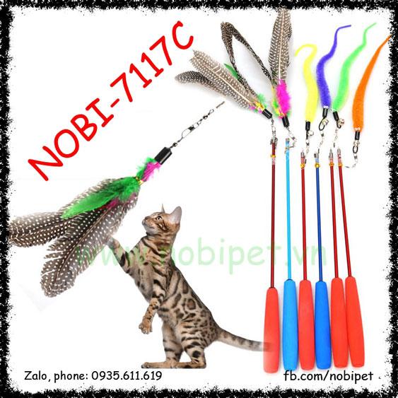 Cần Câu Fishing Đồ Chơi Vờn Mèo Chuyên Nghiệp Nobi-7117C