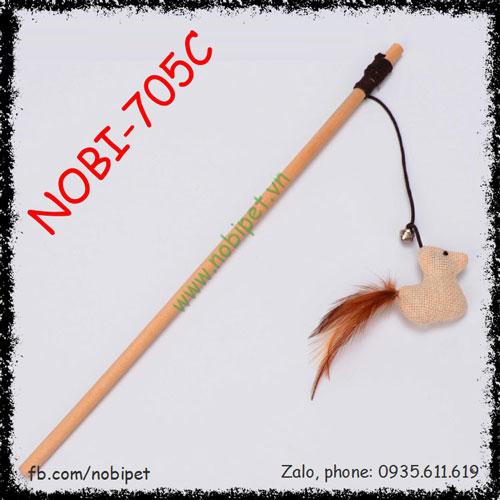 Cần Câu Woody Đồ Chơi Vờn Mèo Xinh Xắn Nobi-705C