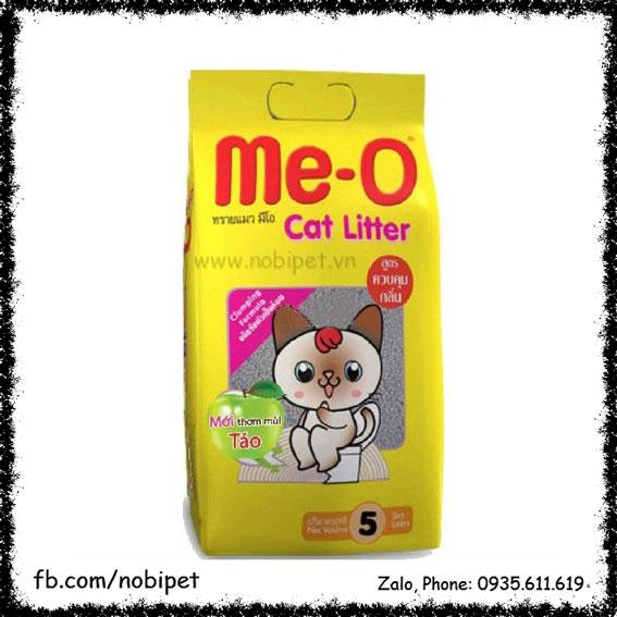 Cát Vệ Sinh Mèo Me-O Cat Litter 5 Lít Hương Táo NOBI-116M