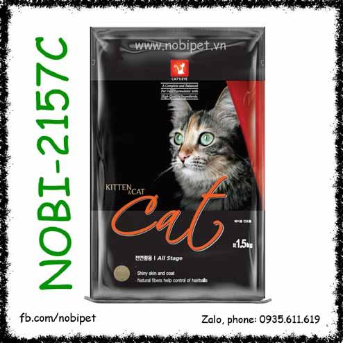 Cats Eye Kitten & Cat 1.5kg Thức Ăn Hạt Cho Mèo Con Và Mèo Lớn
