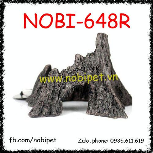 Cay Đá Nghệ Thuật Bazan Trang Trí Chuồng Nuôi Bò Sát Nobi-648R