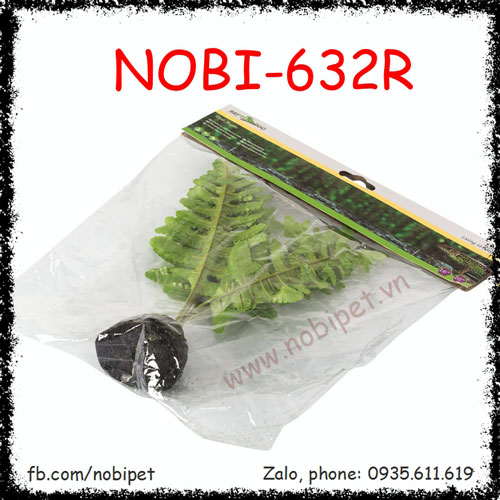 Cây Dương Xỉ Giả Làm Phong Cảnh Chuồng Nuôi Bò Sát Nobi-632R