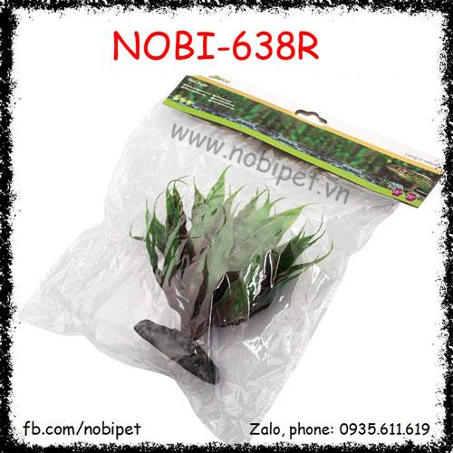 Cây Phong Cảnh Lá Sa Mạc Trang Trí Chuồng Nuôi Bò Sát Nobi-638R