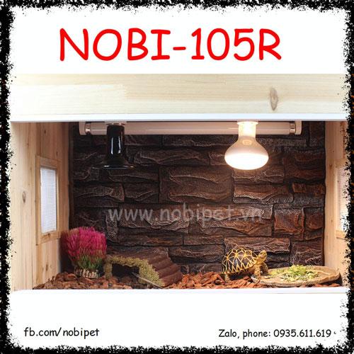 Ceramic Lamp Nomo Đèn Sưởi Sứ Hồng Ngoại Cho Bò Sát Nobi-105R