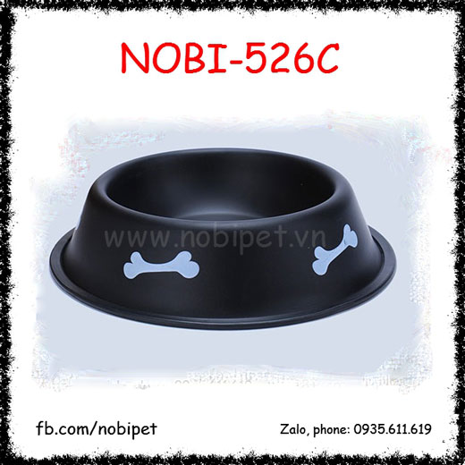 Chén Ăn Binbin Inox Cao Cấp Cho Chó Mèo Nobi-526C