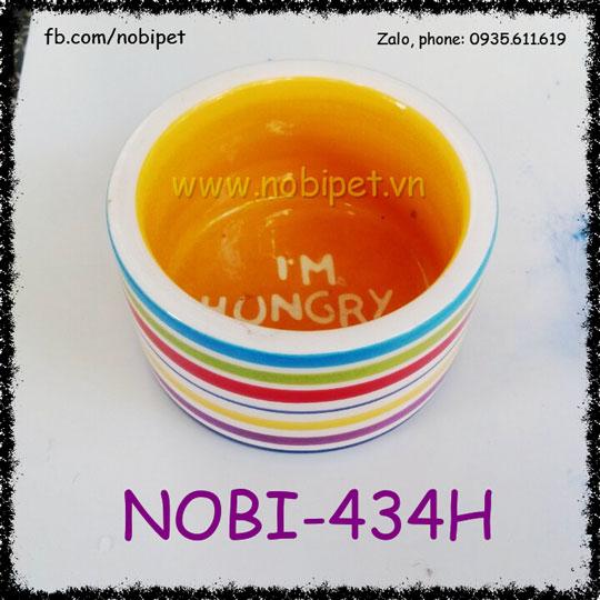 Chén Ăn Color Cho Chuột Hamster Nhím Kiểng Nobi-434H