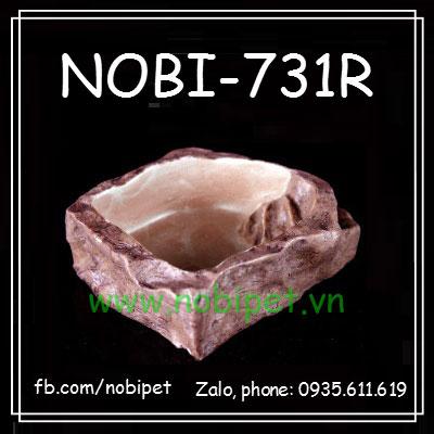 Chén Ăn Giả Đá Thạch Nhũ Mỹ Thuật Nuôi Nhím Kiểng Nobi-731R