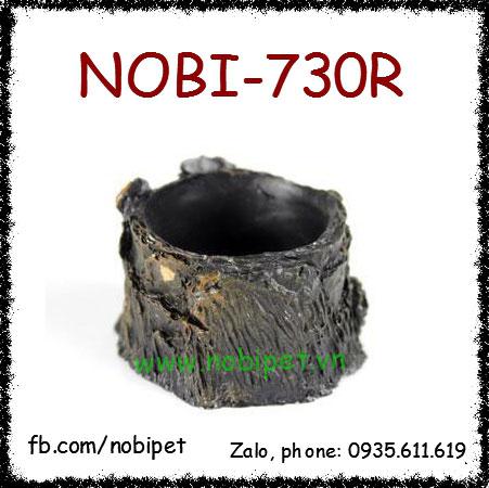 Chén Ăn Gốc Cây Cổ Đế Sâu Cho Tắc Kè Hoa, Rồng Úc Nobi-730R