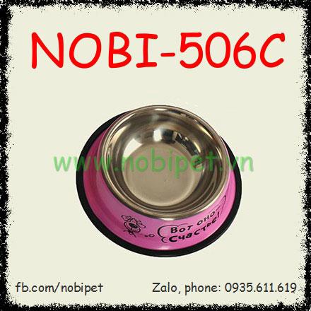 Chén Ăn Inox Coto Cao Cấp Cho Chó Mèo Nobi-506C