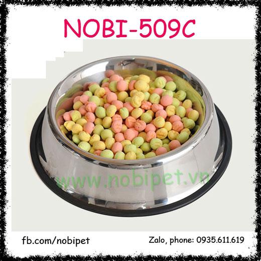 Chén Ăn Inox Nowy Cho Chó Mèo Nhiều Size Nobi-509C