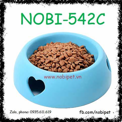 Chén Ăn Love Họa Tiết Trái Tim Cho Chó Mèo Nobi-542C