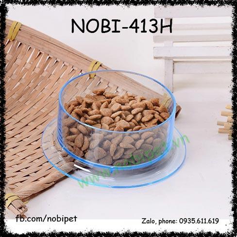 Chén Ăn Mica Sun Trong Suốt Chống Lật Cho Nhím Kiểng Nobi-413H