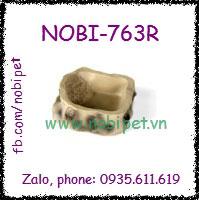 Chén Ăn Mini Crita Giả Đá Da Báo Cho Bò Sát Nhỏ Nobi-763R
