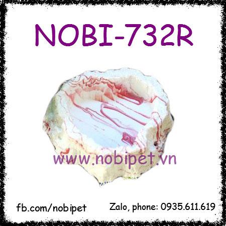 Chén Ăn Mô Hình Đá Cẩm Thạch Mỹ Thuật Cho Bò Sát Nobi-732R