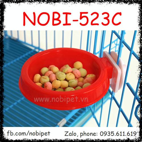 Chén Ăn Đĩa Bay Nhựa Gắn Lồng Cho Sóc Cảnh Nobi-523C