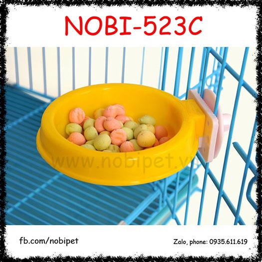Chén Ăn Naruto  Gắn Lồng Cho Chó Mèo Nobi-523C