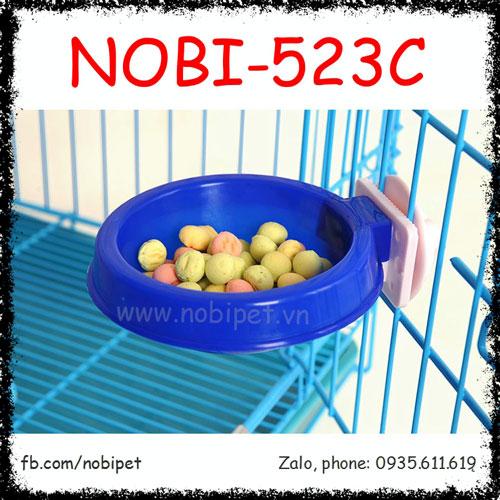 Chén Ăn Color Nhựa Gắn Lồng Cho Thỏ Kiểng Bọ Ú Nobi-523C