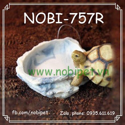 Chén Ăn Permi Vân Giả Đá Cho Rồng Nam Mỹ Rùa Bò Sát Nobi-757R