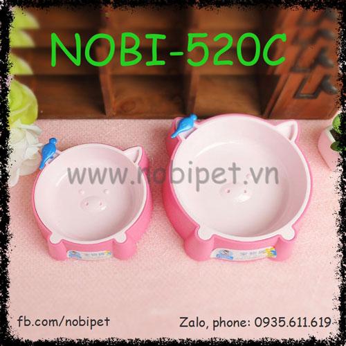 Chén Ăn Singapore Nhựa Cao Cấp Cho Chó Mèo Nobi-520C