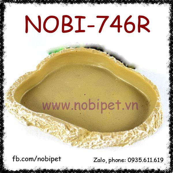 Chén Ăn Taroco Vân Đá Cẩm Thạch Cho Sóc Cảnh Nobi-746R