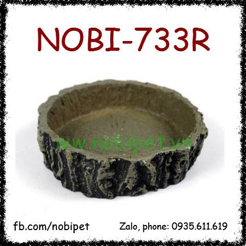 Chén Ăn Vân Gốc Cây Cổ Trang Trí Chuồng Nuôi Nhím Kiểng Nobi-733R