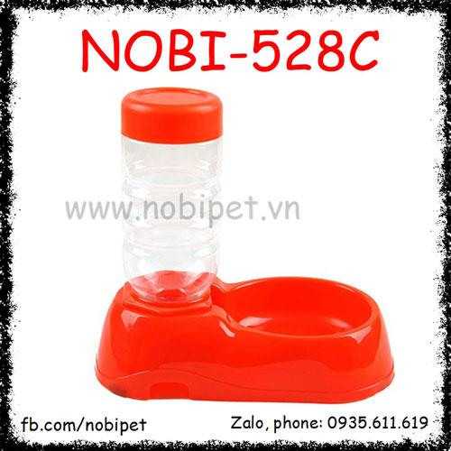 Chén Uống Nước Cherry Tự Động Cho Chó Mèo Nobi-528C