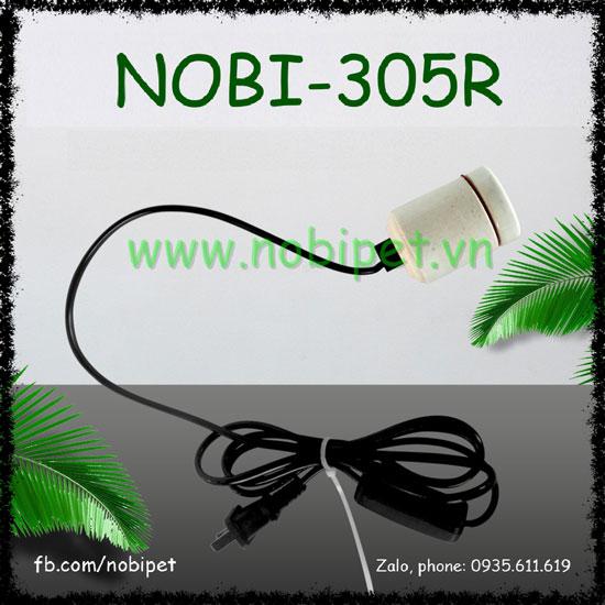Chuôi Đèn Nomo Có Công Tắc Dây Cắm Cho Bò Sát Nobi-305R