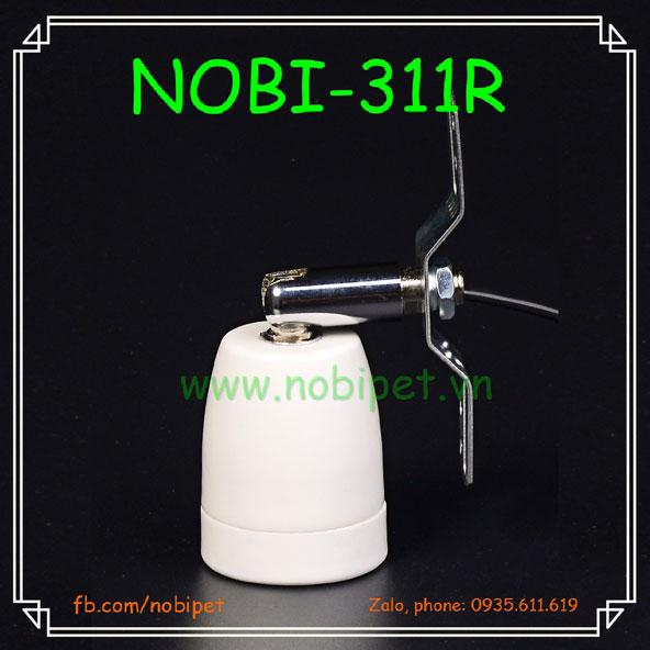 Chuôi Đèn Sứ Xoay Trọn Bộ RS Gắn Chuồng Nuôi Bò Sát Nobi-311R