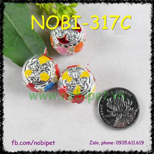 Chuông Đeo Cổ Jewelry Cho Chó Mèo Sang Chảnh Nobi-317C