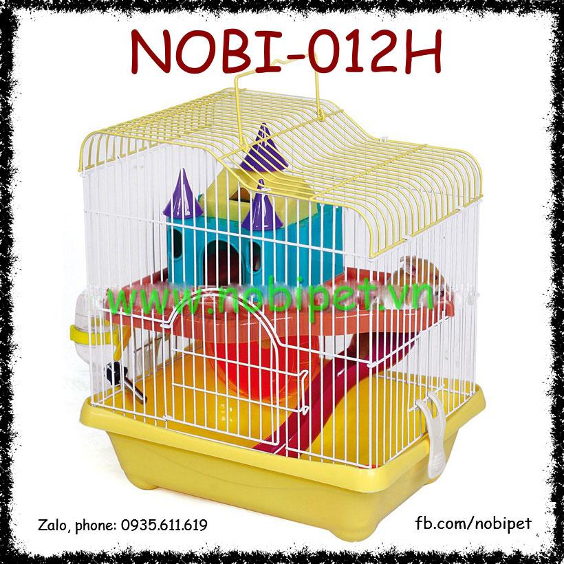 Chuồng Lồng Castle Small Nuôi Chuột Hamster Đủ Phụ Kiện Nobi-012H