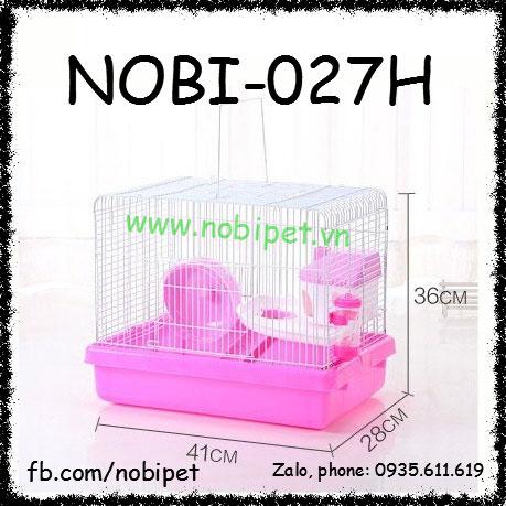 Chuồng Lồng Hiroshima Nuôi Chuột Hamster Size Lớn Nobi-027H
