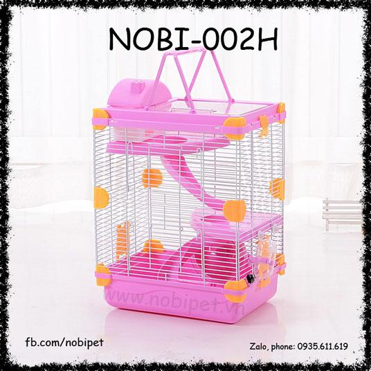 Chuồng Lồng Penhouse 2 Tầng Full Phụ Kiện Cho Hamster Nobi-002H