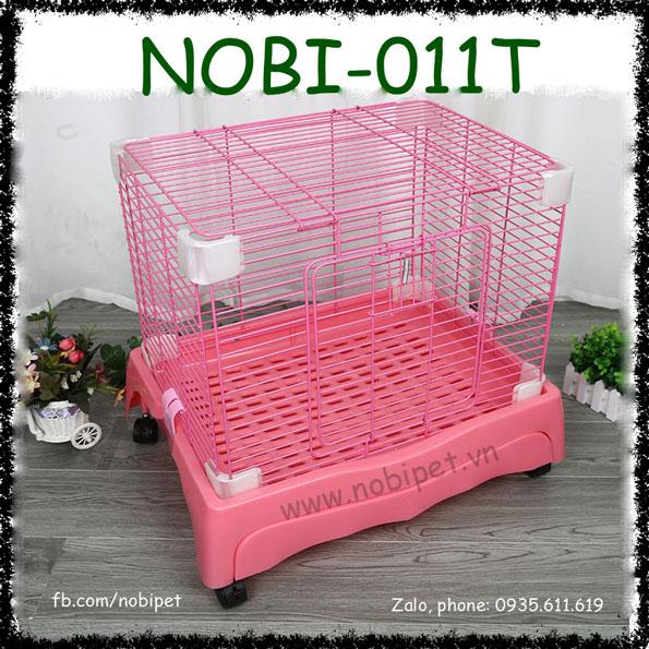 Chuồng Lồng Sắt Extra Có Bánh Lăn Cho Thỏ Kiểng Bọ Ú Nobi-011T
