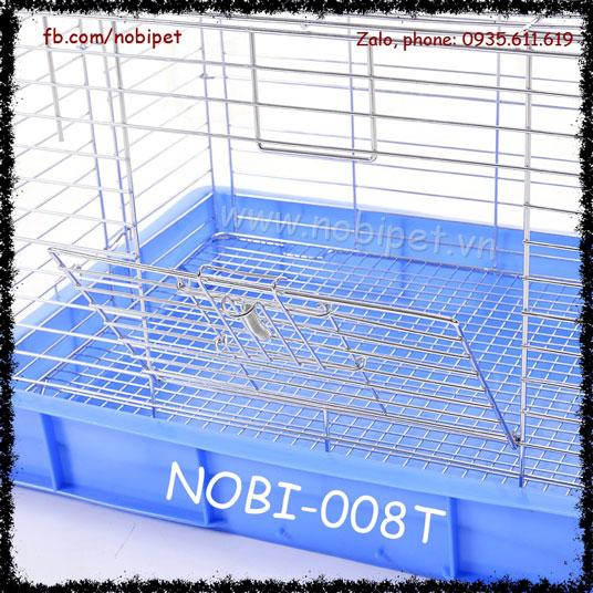 Chuồng Lồng Sắt Minhome Nuôi Thỏ Kiểng Bọ Ú Nobi-008T