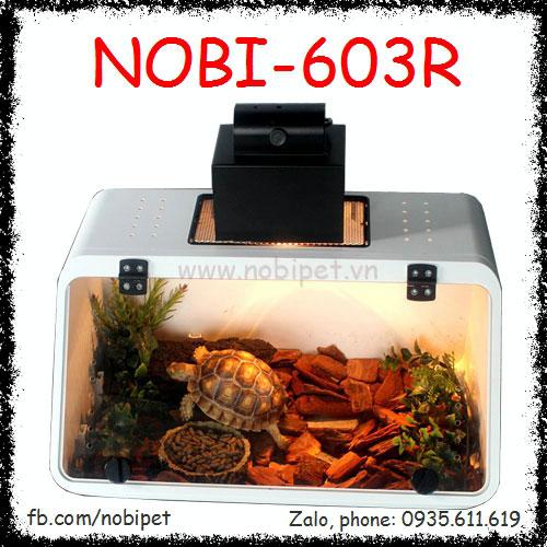 Chuồng Nuôi Rùa Và Bò Sát Nhỏ Pocolo Cao Cấp Nobi-603R