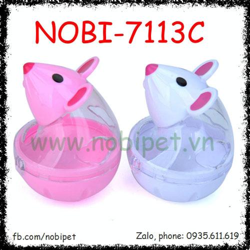 Chuột Lật Đật Chứa Thức Ăn Đồ Chơi Cho Chó Nobi-7113C