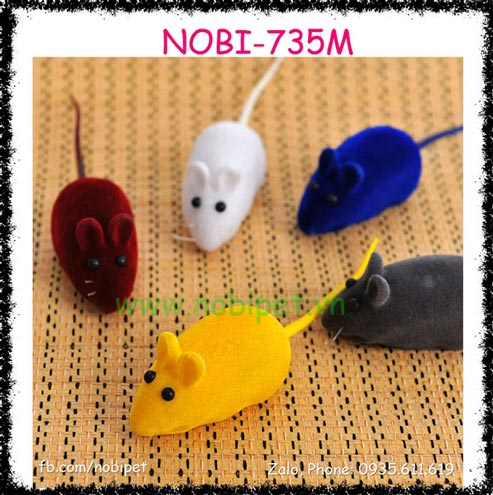 Chuột Nhắt Giả Cho Mèo Chơi Nobi-735M