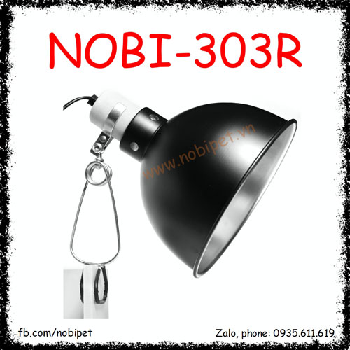 Chụp Đèn RS Bóng UVA UVB Nguyên Bộ Cho Bò Sát Nobi-301R