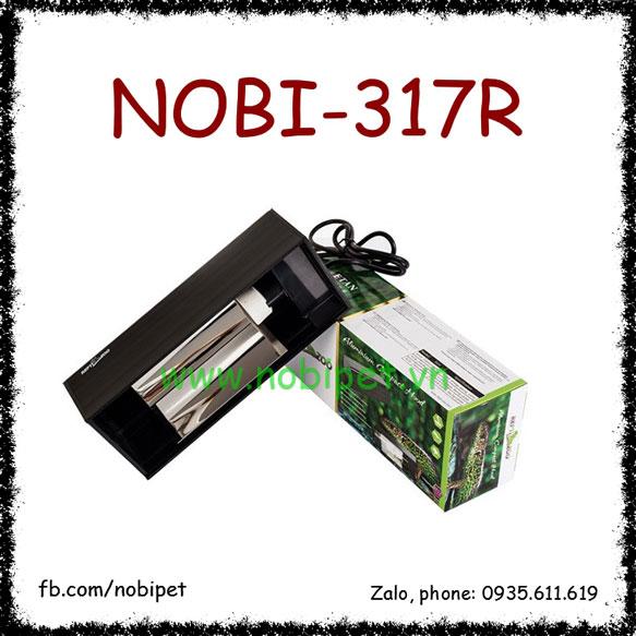 Chụp Đèn Vuông 1 Bóng UVB Xoắn Cao Cấp Cho Bò Sát Nobi-317R
