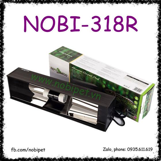 Chụp Đèn Vuông 2 Bóng UVB Hãng Reptizoo Cho Bò Sát Nobi-318R