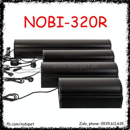 Chụp Đèn Vuông 2 Bóng UVB Và 2 Bóng UVA Cho Bò Sát Nobi-320R