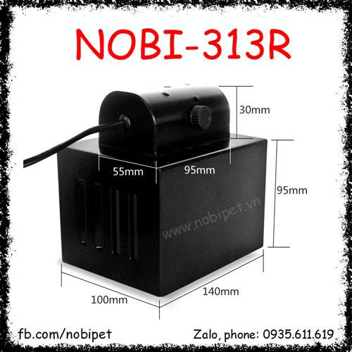 Chụp Đèn Vuông Nomo Cao Cấp Chống Chói Cho Bò Sát Nobi-313R